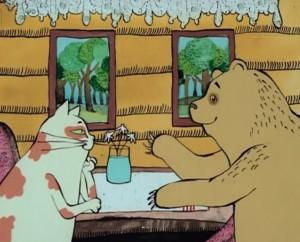 Magyar népmesék - A medve és a macska