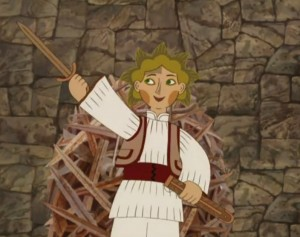 Magyar népmesék – Fából faragott Péter