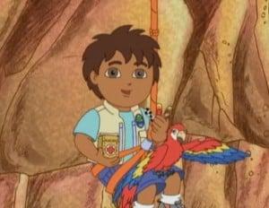 Aramamagáj Go, Diego, Go mese