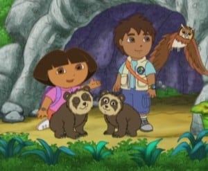 Go, Diego, Go! - Pápaszemes medvék