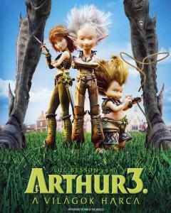 Arthur 3 – A világok harca teljes mesefilm
