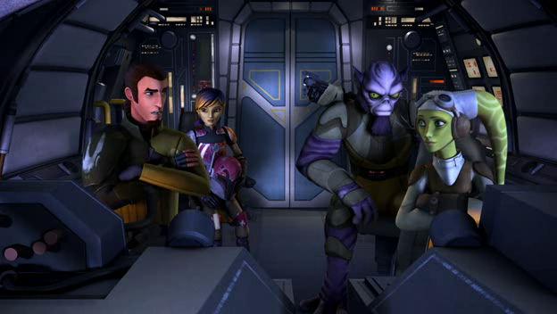 Star Wars: Lázadók – A lázadás szikrája
