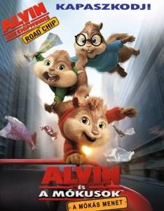 Alvin és a mókusok - A mókás menet online mese