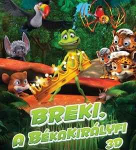 Breki, a békakirályfi teljes mese