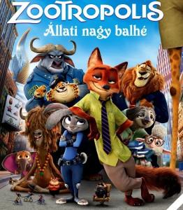 Zootropolis - Állati nagy balhé online mesefilm